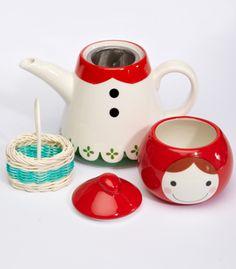 little red riding hood tea pot