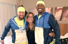 Dylan and Kwame -Friends/Coaches Amazing Race, Coaches, Rain Jacket, Windbreaker, Friends, Jackets, Dresses, Fashion, Amigos
