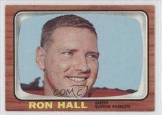 Ron Hall DB Ron DB Hall, Boston Patriots (Football Card) 1966 Topps #8 by Topps. $2.95. 1966 Topps #8 - Ron Hall DB