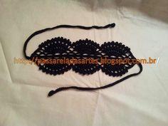 Artes na Passarela: Tiara de crochê