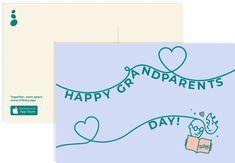 Free Grandparents' Day Postcard ::