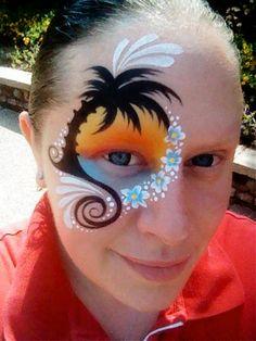 99a5beb40 59 Best Girl s Face Paint Ideas images