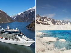 """You've come to see such dramatic sights as glaciers calving, whales breaching and eagles flying overhead. Being on a ship that's itself a contemporary stunner only enhances the scenery,"" says Fran Golden, cruise expert for USA Today's Experience Cruise site. The 2,850-passenger Celebrity Solstice is full of ""firsts,"" including the first Lawn Club, a half-acre of real grass on the top deck."
