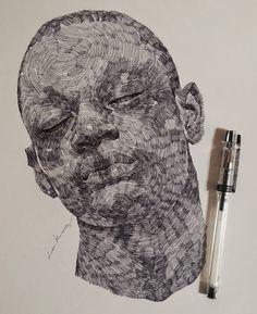. . . . . . . . #illustration#drawing#fineart#goodmorningart#sketch#doodle#portrait#드로잉#일러스트#watts#worldofpencil…