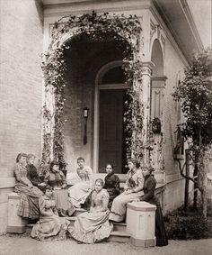 Kemper Hall, School for girls/ladies in Wi. Kemper Hall, School for girls/ladies in Wi. Antique Photos, Vintage Pictures, Vintage Photographs, Old Pictures, Vintage Images, Old Photos, Victorian Photography, Old School House, Victorian Life