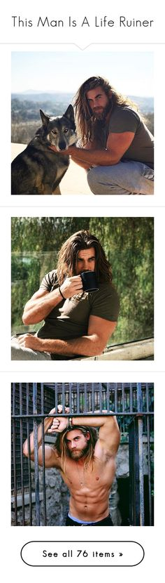 """This Man Is A Life Ruiner"" by digital-minerva ❤ liked on Polyvore featuring brock o'hurn"
