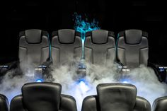 Our SFX Motion Seats round off our expertise in creating Theater solutions, allowing for the highest-quality experience, featuring 3 or precision movement as well as the most comprehensive array of integrated special effects.