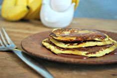 Low Calorie, High Protein Banana Pancakes - 2 Ingredients! This is not WW but it looked pretty good!