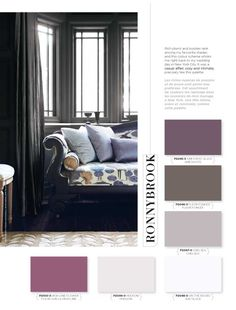 Rich plums and purples rank among my favourite shades, and this colour scheme whisks me right back to my wedding day in New York City. It was a casual affair, cozy and intimate, precisely like this palette. #BeautiTone #StyleAtHome