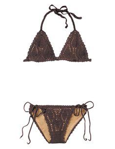 Lisa Maree crochet string bikini, $127.00