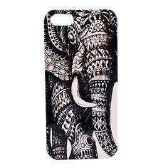 Patrón Elefante duro caso para iPhone 5/5S – EUR € 3.67
