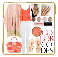 """""""cool spirit"""" by mickialaandrea on Polyvore featuring Melissa McCarthy Seven7, Topshop, Glamorous, Lilly Pulitzer, MICHAEL Michael Kors, Terre Mère, Milani and plus size clothing"""