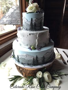 We love working with Colorado Rose Cake Company! We love working with Colorado Rose Cake Company! Wedding Cake Roses, Fall Wedding Cakes, Wedding Cake Designs, Rose Wedding, Camo Wedding, Wedding Ideas, Wedding Pictures, Wedding Details, Wedding Venues