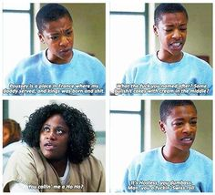 "She knows important facts about everything, from geography to snack cakes. | Poussey Is The Most Underrated Character In ""Orange Is The New Black"""