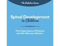 Help parents understand how their child's spine develops from infancy and how critical it is to ensure optimal development is achieved through these young, formative years.This brochure is also available in handout form, see it here.