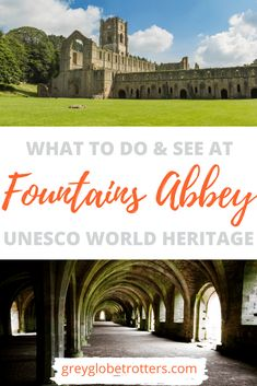 Planning a trip to Yorkshire? UNESCO World Heritage Fountains Abbey and Stuley Royal should be on your list! Discover everything you need to know about this historic site with our complete guide to visiting Fountains Abbey including what to see, where to eat, and where to get the best photos! Vacation Trips, Dream Vacations, Travel Photos, Travel Ideas, Travel Tips, British Travel, Travel Sketchbook, Travel Around Europe, Best Places To Travel