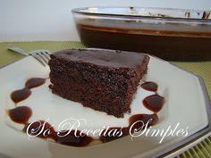 Só Receitas Simples: Bolo de Chocolate 6 Minutos (de Preparo)