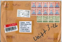 Thailand Stamp Recent Cover Envelope to USA Undelivered Returned Sender G65 | eBay