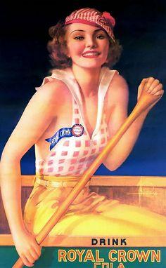 Royal Crown Cola. En 1910 lanza Royal Crown Chero-Cola y alcanza tal popularidad que en 1912 la compañía pasa a denominarse Chero-Cola Company. En 1925 la compañía introduce sabores de frutas bajo la marca Nehi.