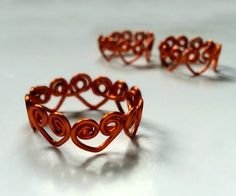 Swirly Heart Wrapped Wire Ring   >   Well, today is Valentine's Day so you would have to work really fast....