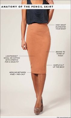 What to Wear With a Pencil Skirt | Pencil Skirt Outfits | Short Skirts