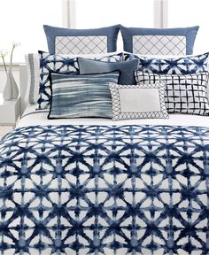 Vera Wang Bedding, Shibori Collection