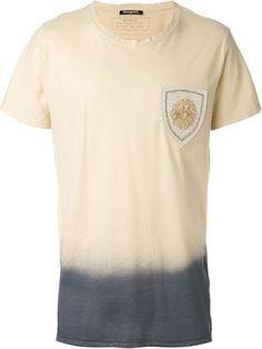 BALMAIN Dip-Dye T-Shirt. #balmain #cloth #t-shirt