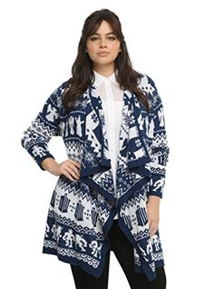 Doctor Who Collection Multi Print Cardigan * Click image for more details.(This is an Amazon affiliate link and I receive a commission for the sales)