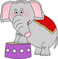 Circus graphics and tons of the cutest graphics that are free!  Elephanthttp://www.mycutegraphics.com/graphics/circus/circus-elephant.html