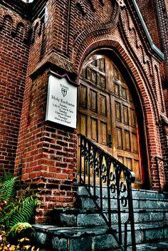St. James Episcopal Church in Baton Rouge - photo by Bruce Bordelon