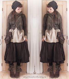 Dark Mori Girl / Strega fashion - absolutely love this outfit it's gorgeous!!!!