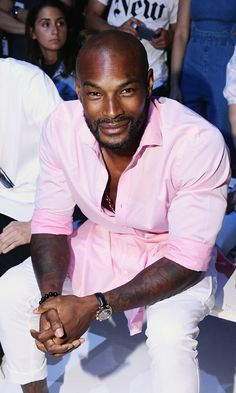 Name: Tyson Beckford  Height: 6'  Brands he's modeled for: Gucci, Ralph Lauren, Tommy Hilfiger  Fun fact: Tyson has a successful film career as well as being a model. He has starred in 'Addicted', 'Hotel California' and 'Into the Blue'.