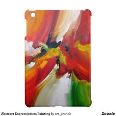 Abstract Expressionism Painting iPad Mini Covers
