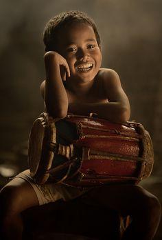 Fotografia The Little Drummer de Vichaya Pop