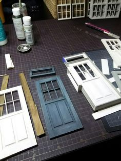 Building door and window components.