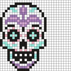 bead loom patterns for beginners Perler Bead Designs, Pearler Bead Patterns, Perler Bead Art, Bead Loom Patterns, Perler Patterns, Perler Beads, Beading Patterns, Cross Stitch Patterns, Knitting Patterns