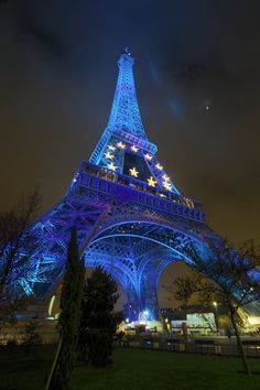 Eifel Tower, Paris France