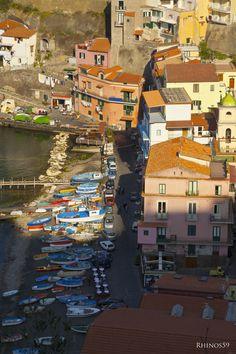 Marina Grande - Capri, province of Naples , Campania region Italy The Beautiful Country, Beautiful Places, Amazing Places, Dream Vacations, Vacation Spots, Sorrento Italia, Naples Italy, Fishing Villages, Toscana