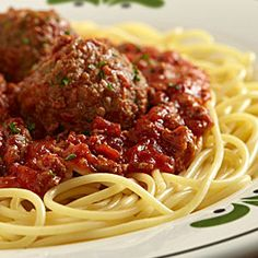 Copycat recipes on pinterest olive garden dressing - Olive garden spaghetti and meatballs ...