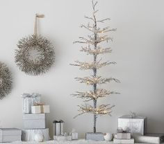 Image result for pottery barn crystal tree