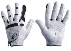 "Bionic Golf Gloves  bionicgloves.com, $29.95  If you can get over the robotic-sounding name, these golf gloves feature anatomical relief padding that evens contact with the grip and helps prevent your club from twisting in your hands. ""Motion zones"" over rotation areas — such as your knuckles — promote natural movement, and web zones between the fingers help keep your hands cool and promote a better, more accurate fit. The glove also comes with extra padding in the palm to elim..."