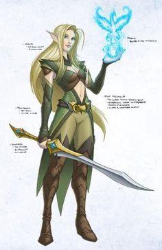 EverQuest Next elf concept art