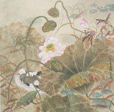 女画家赵松岩——花鸟工笔画