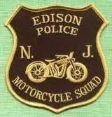 Edison Police Department Motorcycle Patch