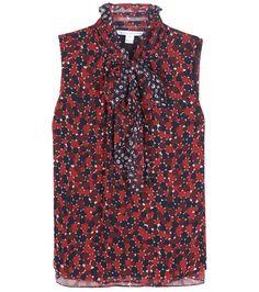 DIANE VON FURSTENBERG Fernanda printed blouse. #dianevonfurstenberg #cloth #tops