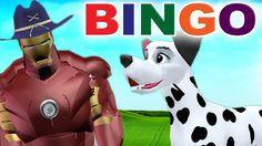 Ironman Cartoons Nursery Rhymes | Bingo Song | Animal Cartoon Rhymes for...