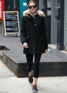 She nailed it! Olivia Palermo stepped out for a manicure and pedicure in New York City on ...