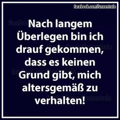 cool ... witzig ... knuddelig ... praktisch ... oder einfach nur inspirierend ... Best Quotes, Funny Quotes, Words Quotes, Sayings, German Quotes, Funny As Hell, Just Smile, True Words, Cool Words