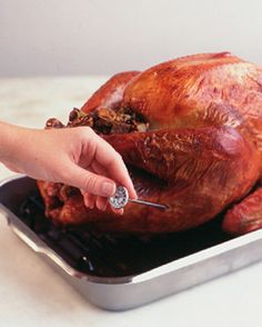 8 Tips you need to know about choosing, defrosting and cooking the perfect Thanksgiving Turkey.