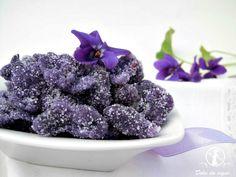 violette cristallizzate